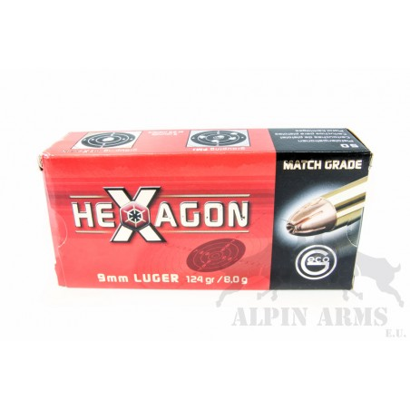 Geco 9mm Luger Hexagon...