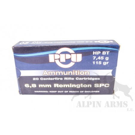 PPU 6,8mm Remington SPC...