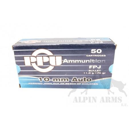 PPU 10mm Auto FPJ 170gr 50...