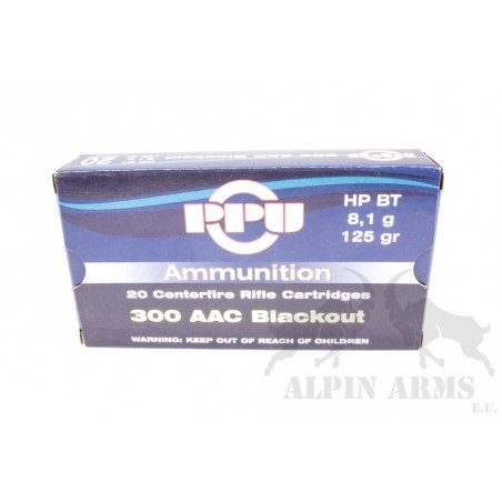 PPU .300 AAC Blackout HP BT...
