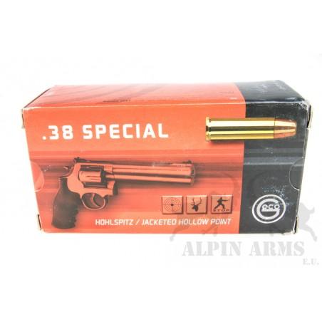 Geco .38 Special JHP 158gr....
