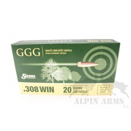 GGG .308 Win. HPBT 155gr 20...