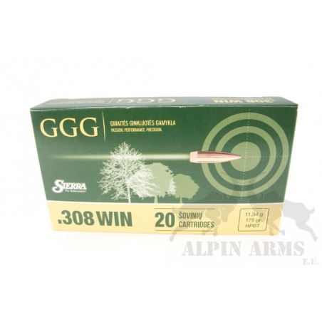 GGG .308 Win. HPBT 175gr 20...